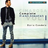 COMPLETE PIANO SONATAS VOL.1/ DARIO CANDELA [치마로사: 피아노 소나타 전곡 1집]