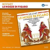 LE NOZZE DI FIGARO/ HERBERT VON KARAJAN [THE HOME OF OPERA] [모차르트: 피가로의 결혼]