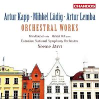 ORCHESTRAL WORKS/ NEEME JARVI [에스토니아 관현악 작품: 카프, 류딕, 렘바 - 네메 야르비]