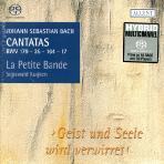 CANTATAS BWV 179,35,164,17/ LA PETITE BANDE, SIGISWALD KUIJKEN [SACD HYBRID] [바흐 칸타타 5집]