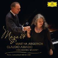 PIANO CONCERTOS K.503 & K.466/ MARTHA ARGERICH, CLAUDIO ABBADO [모차르트 피아노 협주곡: 클라우디오 아바도 & 마르타 아르헤리치]