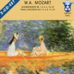 PIANO CONCERTOS NO.1-4,6,8,15,24/ MARTIN GALLING, GUNTER WICH