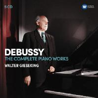 THE COMPLETE PIANO WORKS/ WALTER GIESEKING [드뷔시: 피아노 작품 전집 - 발터 기제킹]
