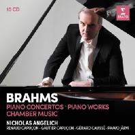 PIANO CONCERTOS, PIANO WORKS AND CHAMBER MUSIC/ NICHOLAS ANGELICH [브람스: 피아노 협주곡, 실내악 작품집 - 니콜라스 안겔리치]