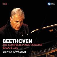 THE COMPLETE PIANO SONATAS, BAGATELLES/ STEPHEN KOVACEVICH [베토벤: 피아노 소나타 전곡, 바가텔 - 스티븐 코바세비치]