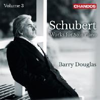 WORKS FOR SOLO PIANO VOL.3/ BARRY DOUGLAS [슈베르트: 피아노 솔로를 위한 작품 3집 - 배리 더글라스]