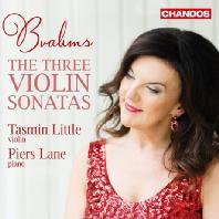 THE THREE VIOLIN SONATAS/ TASMIN LITTLE, PIERS LANE [브람스: 3개의 바이올린 소나타 - 타스민 리틀, 피어스 레인]