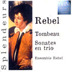 TOMBEAU SONATES EN TRIO/ ENSEMBLE REBEL