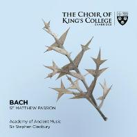 ST MATTHEW PASSION/ CHOIR OF KING`S COLLEGE CAMBRIDGE, STEPHEN CLEOBURY [SACD HYBRID] [바흐: 마태 수난곡 - 킹스 칼리지 합창단]