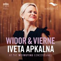 WIDOR & VIERNE: ORGAN SYMPHONIES [비도르: 오르간 교향곡 5번, 비에른: 오르간 교향곡 3번 - 이베타 아프칼나]