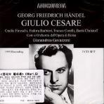 GIULIO CESARE/ FRANCO CORELLI, BORIS CHRISTOFF, GIANANDREA GAVAZZENI [1955]