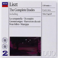 THE COMPLETE ETUDES/ CLAUDIO ARRAU, NIKITA MAGALOFF [리스트: 연습곡 전곡 - 아라우, 마갈로프]