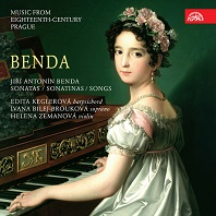 SONATAS & SONGS: MUSIC FROM 18TH CENTURY PRAGUE/ EDITA KEGLEROVA [벤다: 하프시코드 소나타와 노래들]