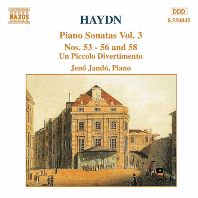PIANO SONATAS VOL.3/ JENO JANDO [하이든: 피아노 소나타 3집 - 예노 얀도]