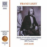 COMPLETE PIANO MUSIC VOL.2/ JENO JANDO [리스트: 피아노 전곡 작품 2집 - 예노 얀도]