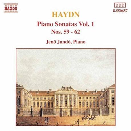PIANO SONATAS VOL.1: NOS.59-62/ JENO JANDO