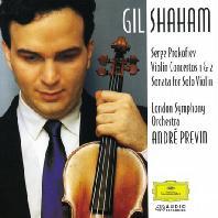 VIOLIN CONCERTOS 1 & 2/ GIL SHAHAM, ANDRE PREVIN [프로코피에프: 바이올린 협주곡 - 샤함 & 프레빈]