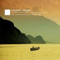 THE COMPLETE DUOS & OPUS 100/ PIETER WISPELWEY, PAOLO GIACOMETTI [슈베르트 & 브람스: 첼로와 피아노를 위한 작품 전곡 3집- 비스펠베이, 자코메티]