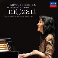 PIANO CONCERTOS NO.17 & 25/ MITSUKO UCHIDA [모차르트: 피아노 협주곡 17 & 25번 - 미츠코 우치다]