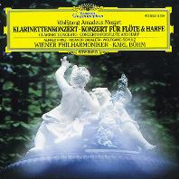 CLARINET, FLUTE & HARP CONCERTOS/ KARL BOHM [모차르트: 클라리넷 협주곡, 플룻과 하프를 위한 협주곡 - 칼 뵘]