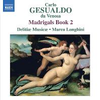 MADRIGALS BOOK 2/ MARCO LONGHINI [제수알도: 마드리갈 2권 - 델리티에 무지캐, 롱기니]