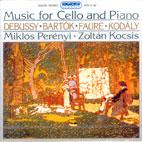 MUSIC FOR CELLO AND PIANO/ MIKLOS PERENYI,ZOLTAN KOCSIS