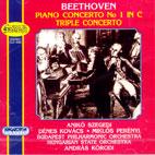 PIANO CONCERTO NO.1 TRIPLE CONCERTO/ MIKLOS PERENYI