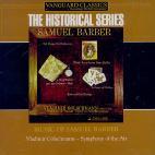 MUSIC OF SAMUEL BARBER/ VLADIMIR GOLSCHMANN [THE HISTORICAL SERIES]