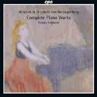 COMPLETE PIANO WORKS/ NATASA VELIKOVIC [하인리히 & 엘리자베트 헤어초겐베르크: 피아노 작품 전집]