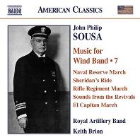MUSIC FOR WINDA BAND 7/ ROYAL ARTILLERY BAND, KEITH BRION [수자: 관악 밴드를 위한 작품 7집 - 로열 아틸러리 밴드]