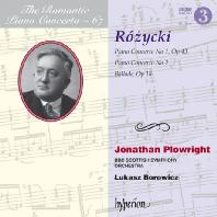 PIANO CONCERTOS/ JONATHAN PLOWRIGHT, LUKASZ BOROWICZ [낭만주의 피아노 협주곡 67: 로지츠키]