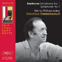 SYMPHONIES NO.1 & 7/ NIKOLAUS HARNONCOURT [베토벤: 교향곡 1 & 7번 - 아르농쿠르]