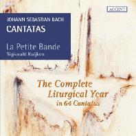 THE CANTATAS FOR THE COMEPLETE LITURGICAL YEAR/ LA PETITE BANDE, SIGISWALD KUIJKEN [바흐: 교회 칸타타 선집(전례력에 따른 1년 사이클)]