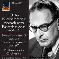 SYMPHONY NO.2 & 5/ OTTO KLEMPERE [CONDUCTS BEETHOVEN VOL.2]