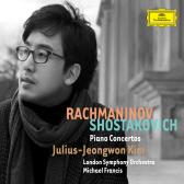 RACHMANINOV & SHOSTAKOVICH: PIANO CONCERTOS/ MICHAEL FRANCIS [김정원: 라흐마니노프 & 쇼스타코비치 피아노 협주곡집]