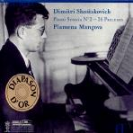 PIANO SONATA NO.2, 24 PRELUDES/ PLAMENA MANGOBA