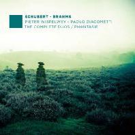THE COMPLETE DUOS & PHANTASIE/ PIETER WISPELWEY, PAOLO GIACOMETTI [슈베르트 & 브람스: 첼로와 피아노를 위한 작품 전곡 1집 - 비스펠베이, 자코메티]