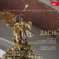 REQUIEM & VESPERAE DE BEATA VIRGINE - MUSIC FROM 18TH CENTURY PRAGUE/ MAREK STRYNCL [자흐: 레퀴엠 & 성모 마리아의 저녁기도]