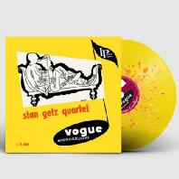 STAN GETZ QUARTET [YELLOW & ORANGE SPLATTER LP]