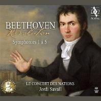 REVOLUTION: SYMPHONIES 1-5/ LE CONCERT DES NATIONS, JORDI SAVALL [SACD HYBRID] [베토벤: 교향곡 1-5번 | 르 콩세르 드 나시옹, 조르디 사발]