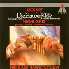 DIE ZAUBERFLOTE HIGH LIGHTS/ NIKOLAUS HARNONCOURT