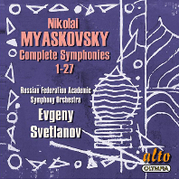 COMPLETE SYMPHONIES 1-27/ EVGENY SVETLANOV [미야스코프스키: 교향곡 전집 - 예브게니 스베틀라노프]