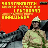 SYMPHONY NO.7/ YEVGENY MRAVINSKY [쇼스타코비치: 교향곡 7번 <레닌그라드>| 므라빈스키]