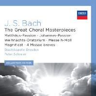 THE GREAT CHORAL MASTERPIECES/ PETER SCHREIER [COLLECTORS EDITION]