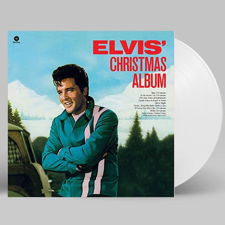 ELVIS` CHRISTMAS ALBUM [180G WHITE LP]