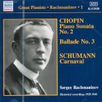 SOLO RECORDINGS 1/ SERGEI RACHMANINOV