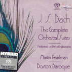 THE COMPLETE ORCHESTRAL SUITES/ MARTIN PEARLMAN [SACD HYBRID]