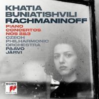 RACHMANINOV PIANO CONCERTOS NOS 2&3/ PAAVO JARVI [라흐마니노프: 피아노 협주곡 - 카티아 부니아티쉬빌리]