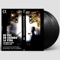 DE VEZ EN CUANDO LA VIDA/ LEONARDO GARCIA-ALARCON [카펠라 메디테라네아: 후안 마누엘 세라 노래 편곡집] [한정반] [180G LP]