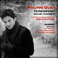 VIOLIN CONCERTO/ PHILIPPE QUINT [SACD HYBRID] [차이코프스키: 바이올린 협주곡 & 아렌스키: 현악사중주 2번]